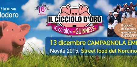 "Image for event ""IL CICCIOLO D'ORO - CAMPAGNOLA EMILIA (RE)"""